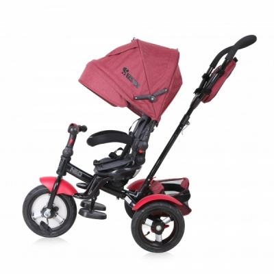 Tricicleta 4 in 1 Neo Air Wheels Red & Black Luxe