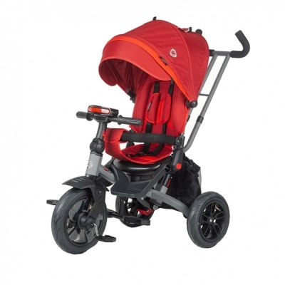 Tricicleta multifunctionala Coccolle Pianti Ruby Red