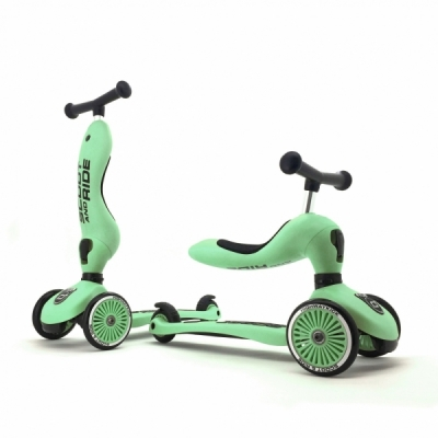 Trotineta copii transformabila 2in1 Scoot & Ride HighwayKick 1 Kiwi