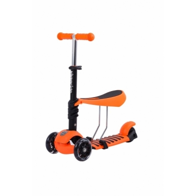 Trotineta evolutiva Scooter 3 in 1 Ride and Skate Orange