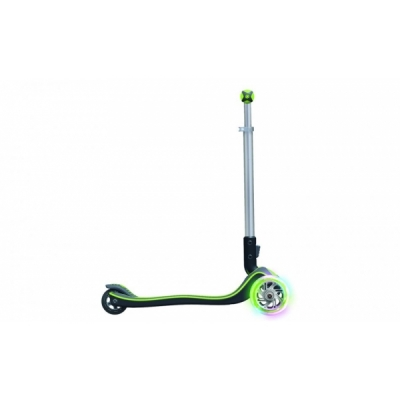 Trotineta pliabila Elite Lights Wheels Verde