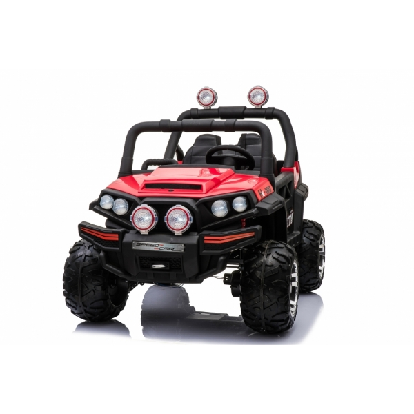 Masinuta electrica Speed Car UTV 4x4 red
