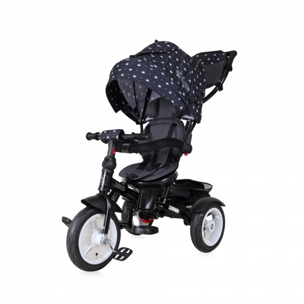 Tricicleta 4 in 1 Neo Air Black Crowns