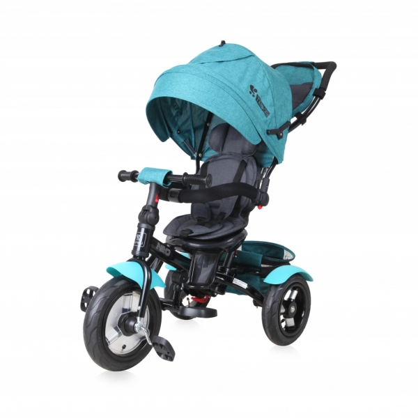 Tricicleta 4 in 1 Neo Air Wheels Green